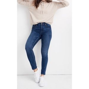 Madewell 10in High Rise Skinny Jeans